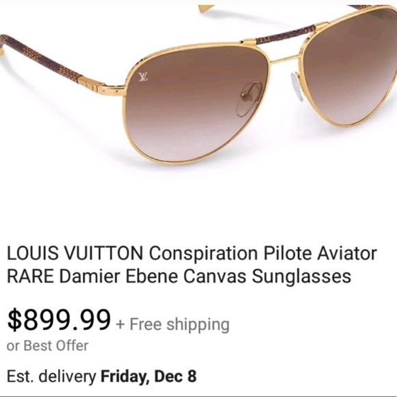 02cbc4feacf3 Lois Vuitton Aviator sunglasses